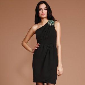 Shoshanna One Shoulder Dress